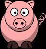 Pig Cartoon Clipart